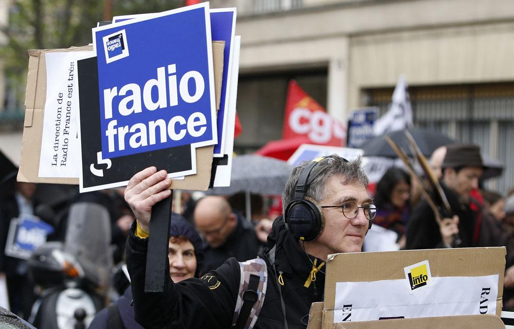 Greve a radio france